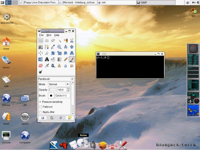 Puppy Linux Discussion Forum :: View topic - Xfce 4 beta